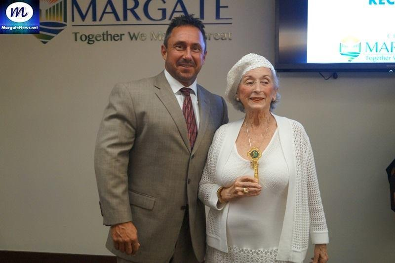 City of Margate Mayor and Dorothy Shooster