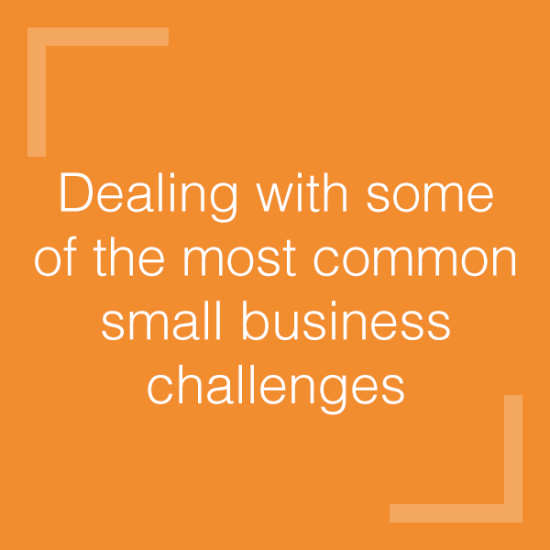 Common small business challenges