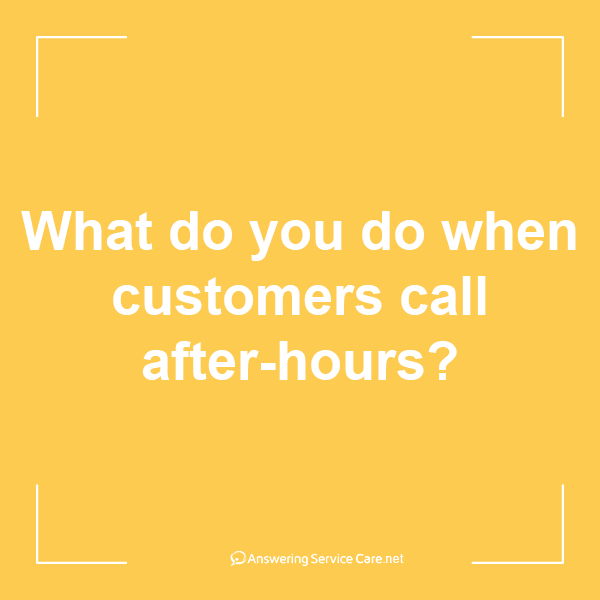 After-hours Phone Service