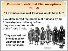 Creationist Misconceptions No. 28 - Eskimos