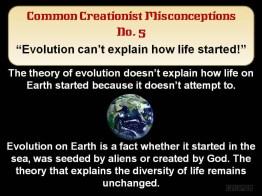 Abiogenesis Life's Origin not evolution