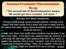Second Law of Thermodynamics disproves evolution