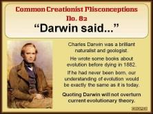 Darwin Said