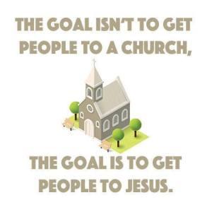 Goal for church
