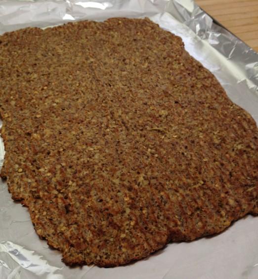 paleo diet challenge day 17 eggplant flatbread