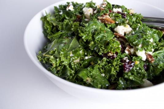 kale salad orange vinaigrette