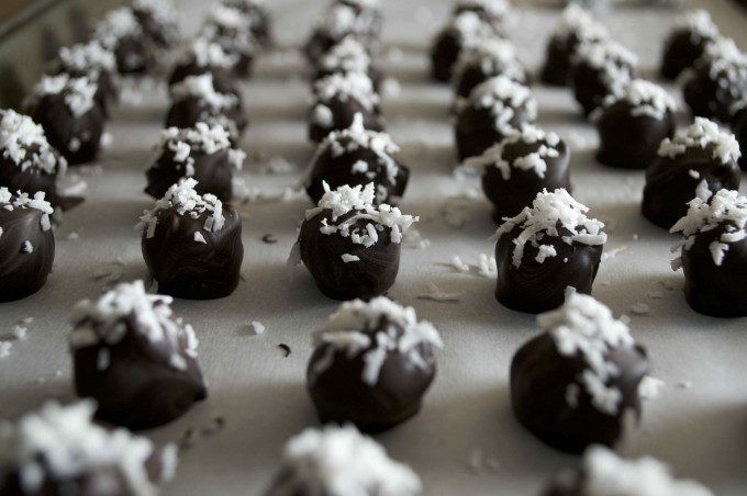 chocolate covered coconut snowballs final