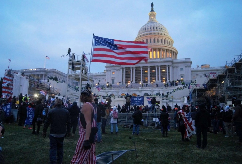 Insurrection at the United States Capitol | January 6, 2021 | Courtesy of Tyler Merbler via Creative Commons