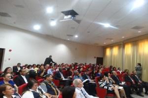 Se aprecia el nutrido grupo de participantes a la capacitación sobre Ética Pública, por parte de la ANATI y la Procuraduría de la Administración.
