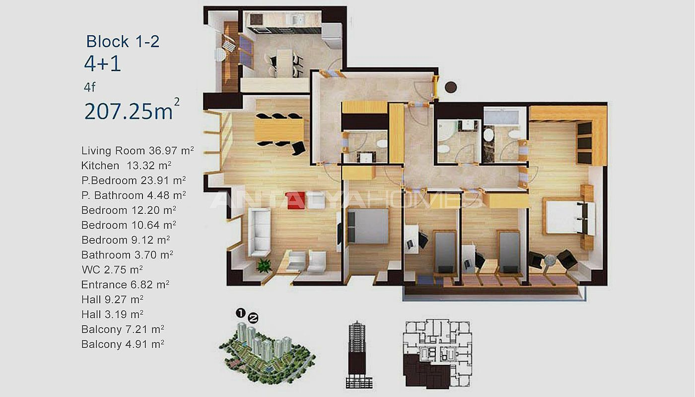 Appartments Exclusifs Istanbul