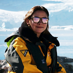 Carolina Pavón, Passenger Service Manager, in Antarctica21's Operations Team