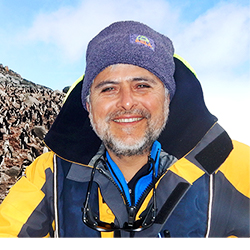 Daniel González, Polar Specialist and Ornithologist, in Antarctica21's Expedition Team