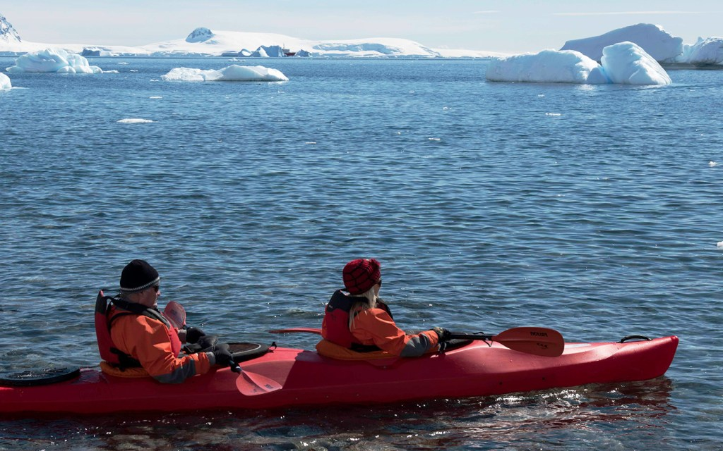 An Antarctic Love Story by Tracey and Micheal, on board the Inaugural Voyage of Magellan Explorer