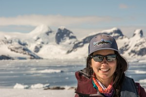 Pelin - a wilderness guide in Patagonia and photographer in Antarctica