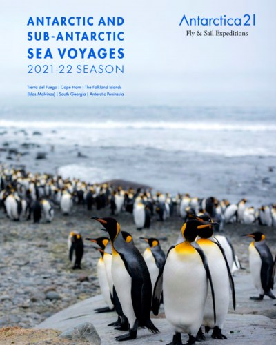 2021-22 Antarctic Air-Cruise brochure in English