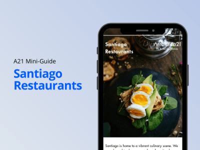 Download your Santiago Restaurants mini-guide by Antarctica21