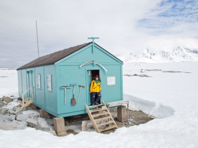 Damoy Hut, Antarctica. Photography by Felipe Micheelsen