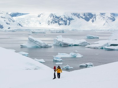 Port Charcot, Antarctica. Photography by Nicolas Gildemeister