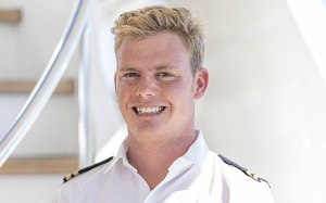 Deckhand for Antares yacht, Scotty Nethersole