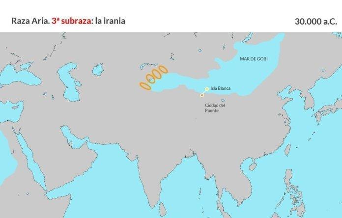 Raza aria. Tercera subraza, irania (1)