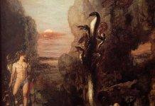 Gustave Moreau: Hércules y la Hidra de Lerna (1876).