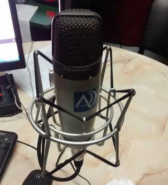 microfono antena