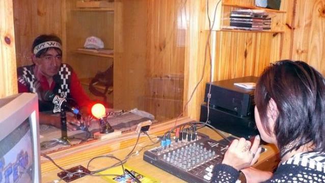 FM Newen Wece en la comunidad Ancapan -Linares.