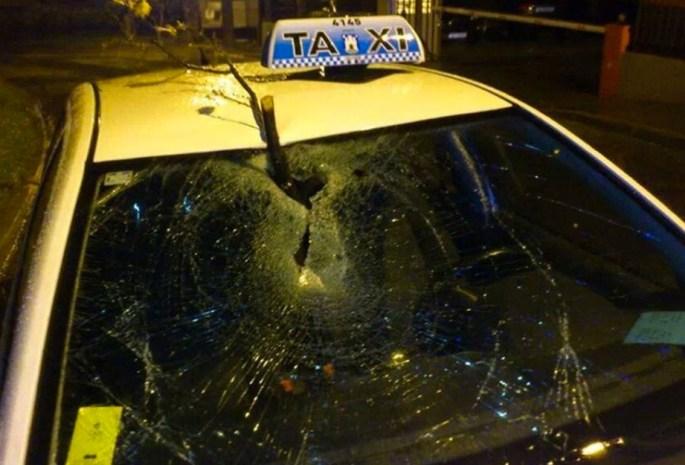 Nevrijeme oštetilo Taxi