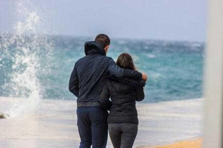 vrijeme, vremenska prognoza, jugo, nevera, bura, ljubav, valentinovo, cura i decko, ljubavni par, ljubavna veza