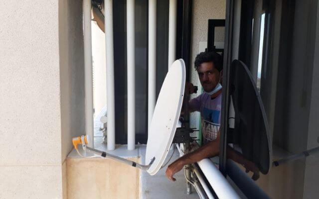 instalación y orientacion antenas parabolicas
