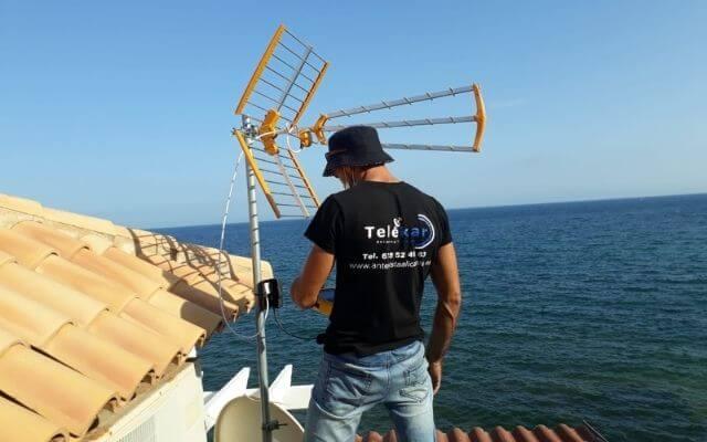 Instalacion antenas TV en Altea