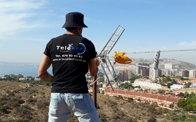 Antenista Alicante Telekar antenas