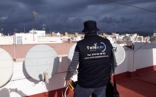 Antenista Elche Alicante telekar, antenistas alicante