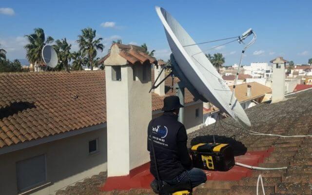 Antenista Alicante, antenas alicante, Jacarilla