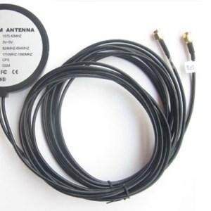 GPS + GSM combo antenna 2 in 1 GPS car navigation antenna antenna length of 3 meters