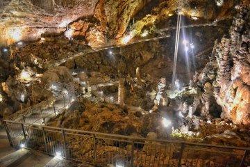 Babbo Natale in Grotta Gigante