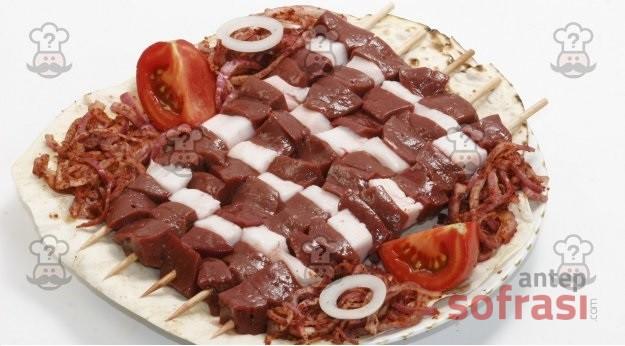 Cartlak Kebabı (Ciğer Kebabı)