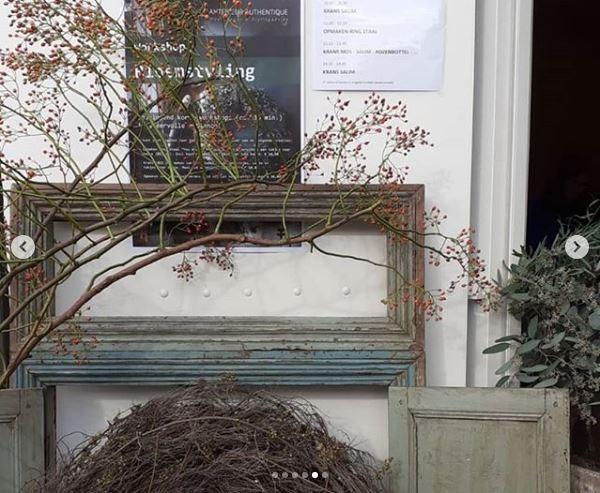 Afbeelding met decoratiematerialen als achtergrondscenario voor Antérieur Authentique Workshop op Herfstfair 2019