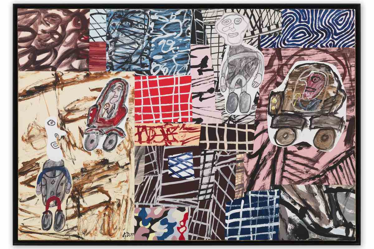Tracing Jean Dubuffet S Fascination With Urban Space