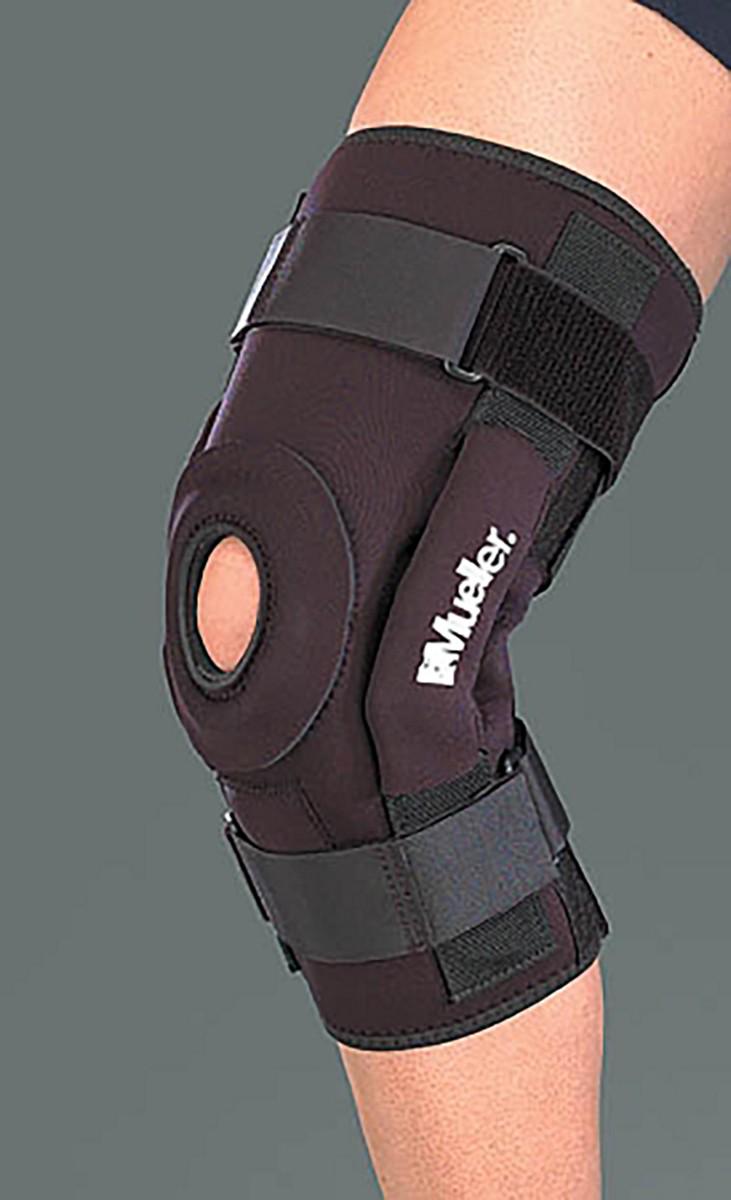 Mueller B5333 Hinged Knee Brace Deluxe A73 480 Anthem