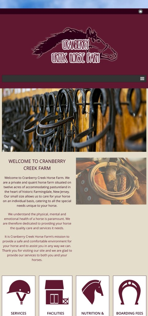 Cranberry Creek Horse Farm
