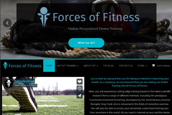 forces of fitness