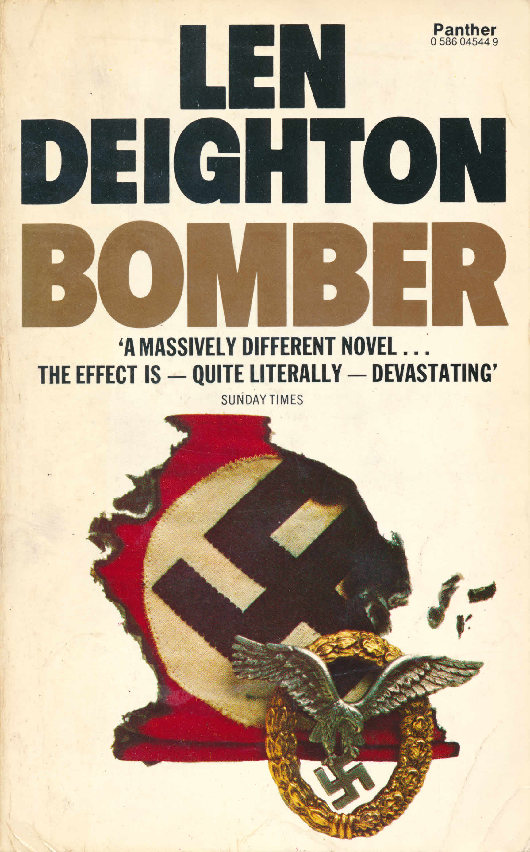 Cover of a paperback edition of Bomber