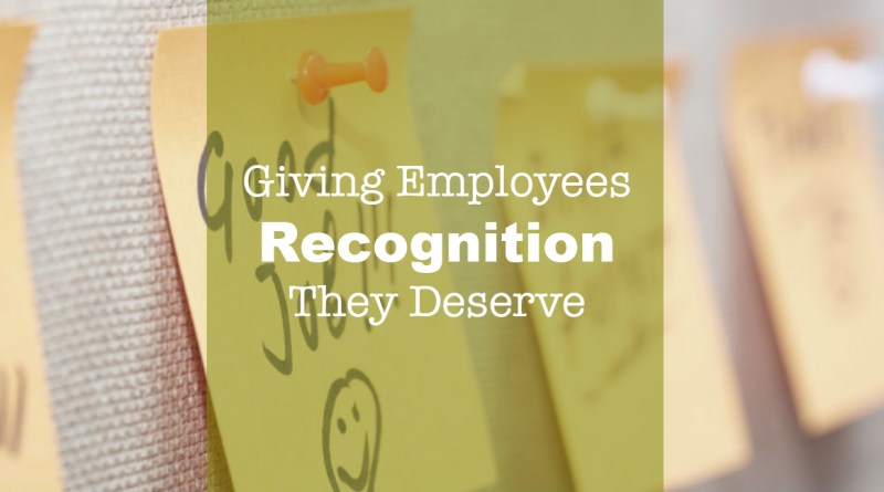 Recognizing Employee Contritbutions