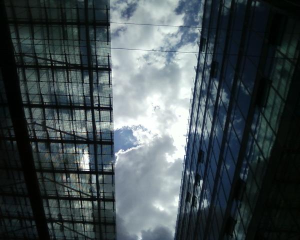 Through buildings