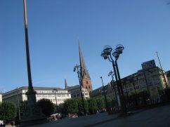 Hamburg's Rathausmarkt