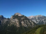 From a lower-level gondola station.
