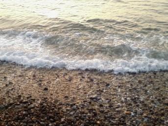 Dieppe's stone shore