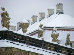 The Dresden castle...under snow.