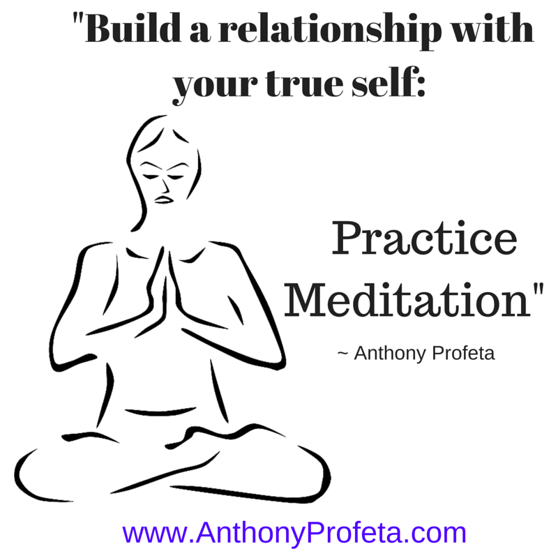 Learn to meditate and know thyself